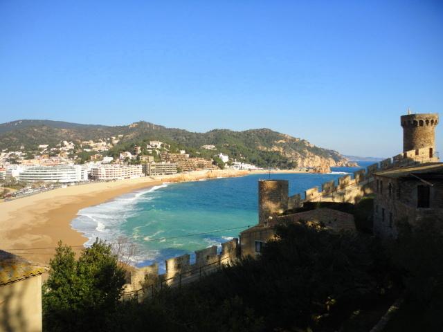 Tossa de Mar, paraíso azul en la costa brava