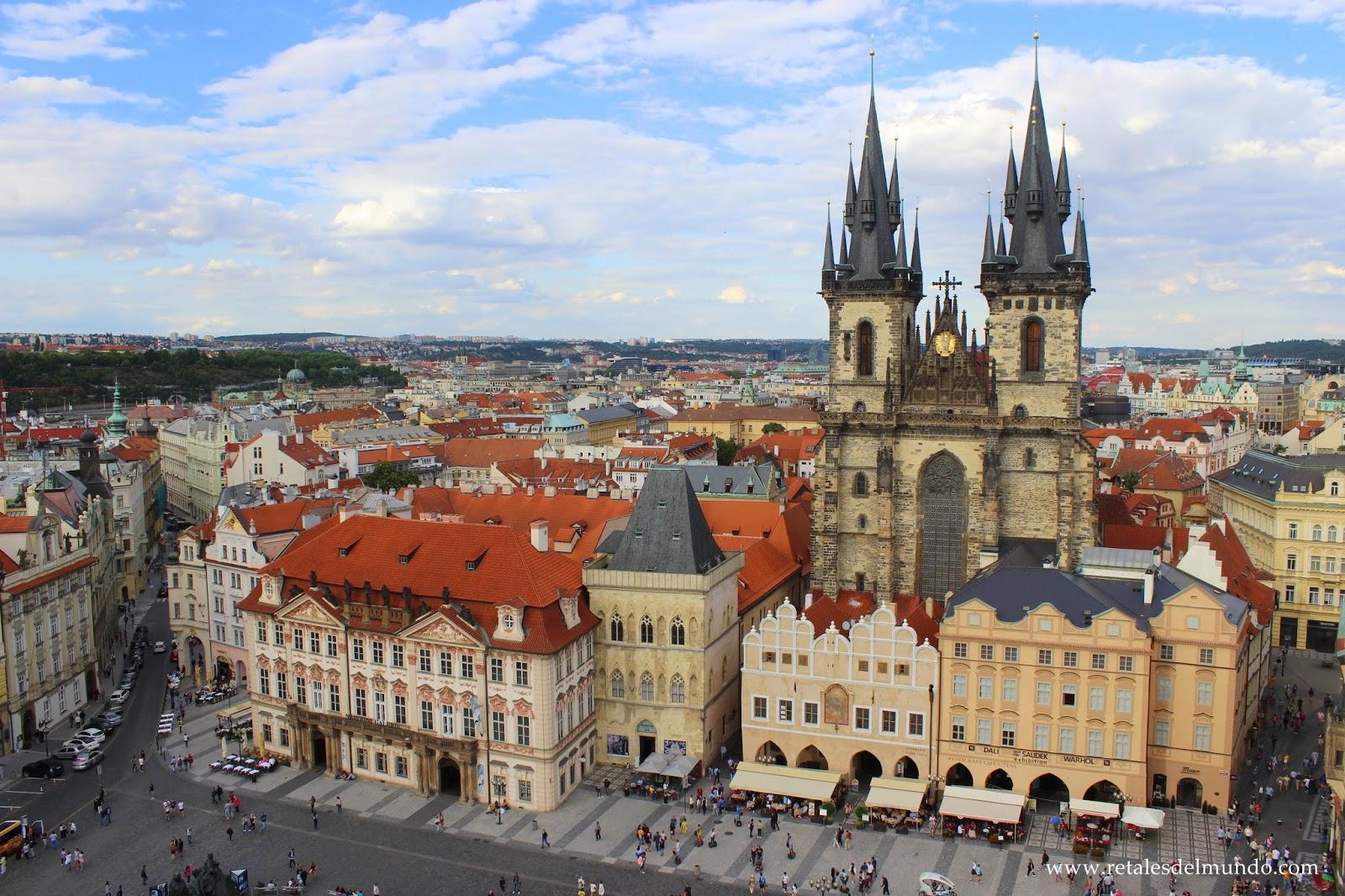 Praga, «La ciudad que enamora»