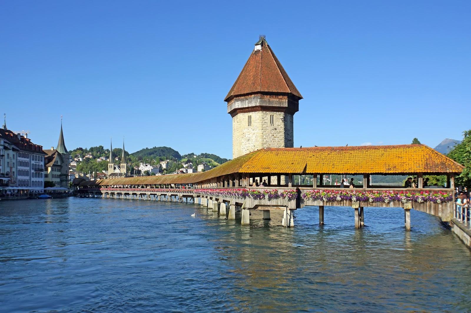 Lucerna, belleza suiza