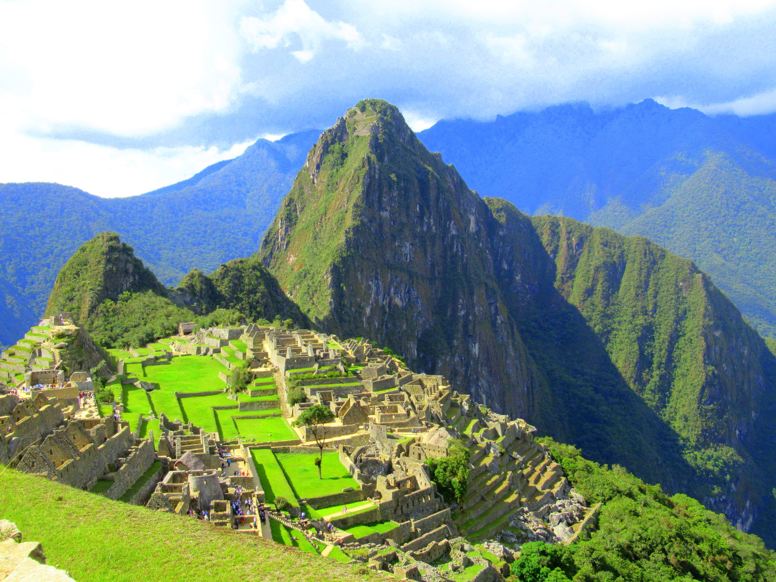 Machu Picchu, maravilla del mundo moderno