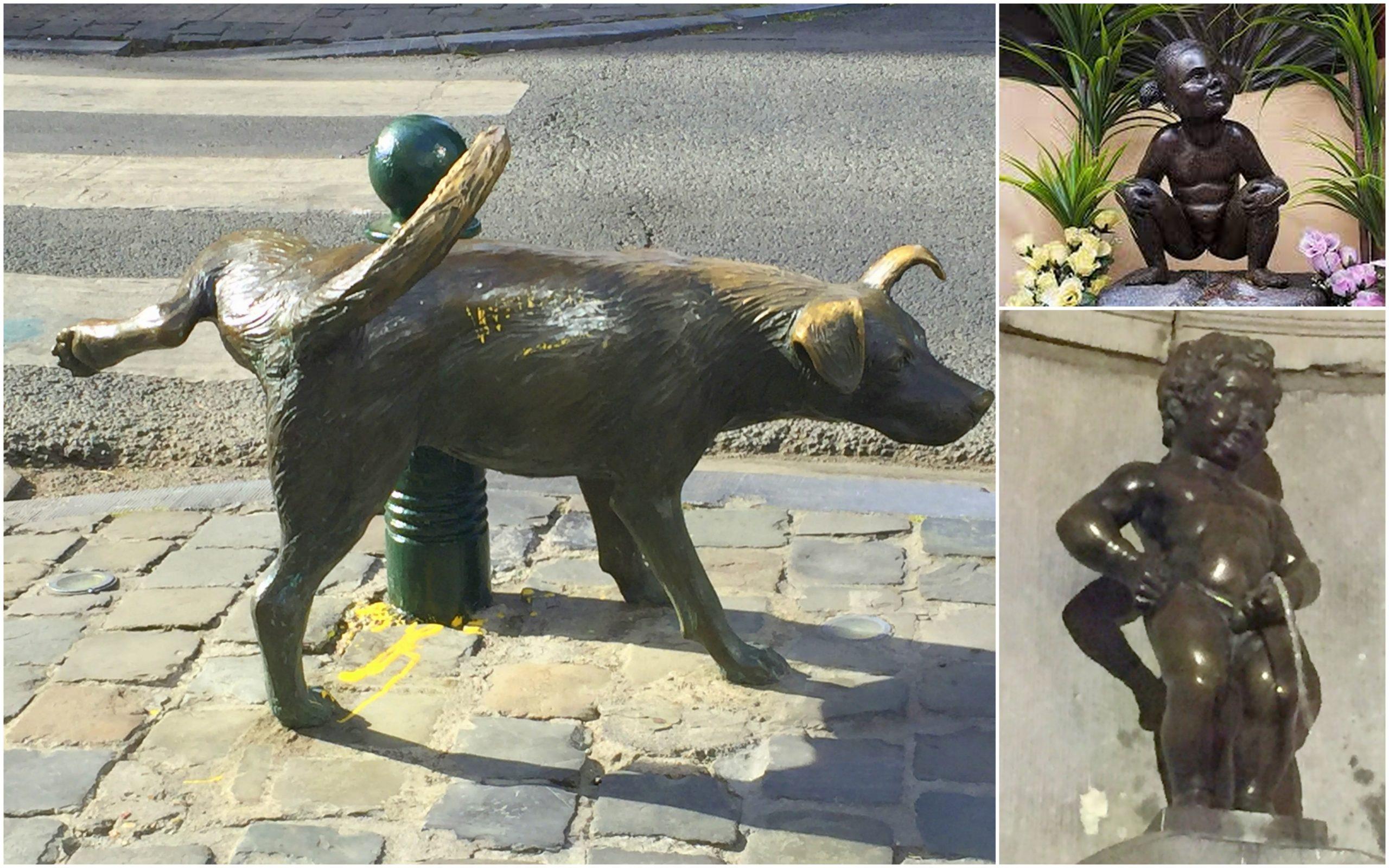 Bruselas y sus estatuas que orinan